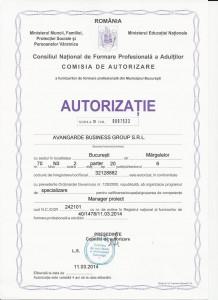 cursuri de calificare acreditate autorizate