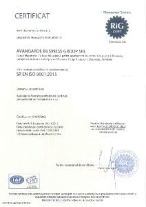 ISO-9001-Avangarde- RIG Cert- 2018-ultima-mica